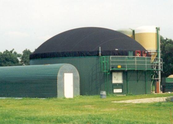 1999 Bau der ersten deutschen PlanET Biogasanlagen_web