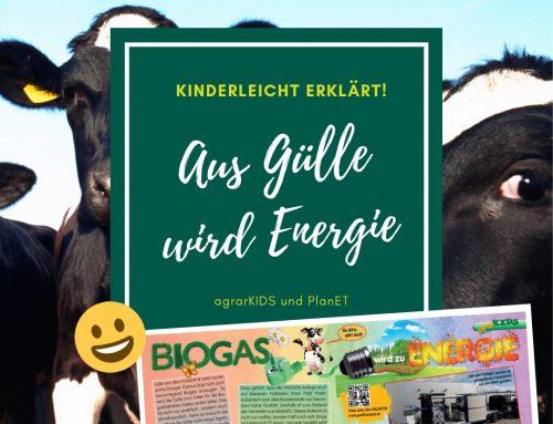 agrarKIDS – Biogas wird zu Energie