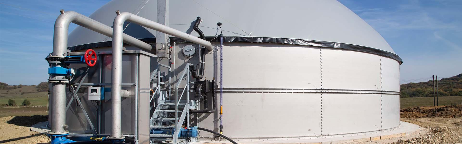 Biogas Kleinanlage
