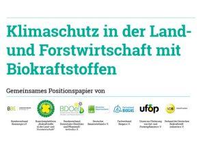 Klimaschutz Landwirtschaft Biokraftstoffe tanken Beitragsbild