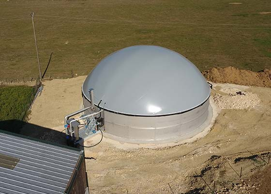 Biogasanlage VALENTIN