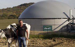 Biogas Kleinanlage Valentin