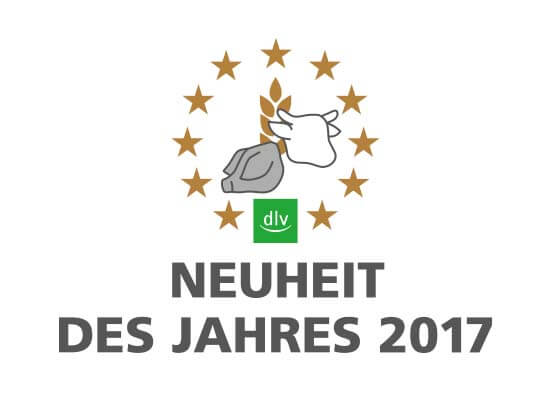 Zertifikat Biogas Neuheit des Jahres 2017