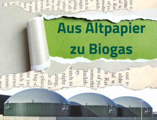 Aus Altpapier zu Biogas